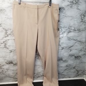 Tommy Hilfiger Womens Radcliffe Khaki Trousers 10